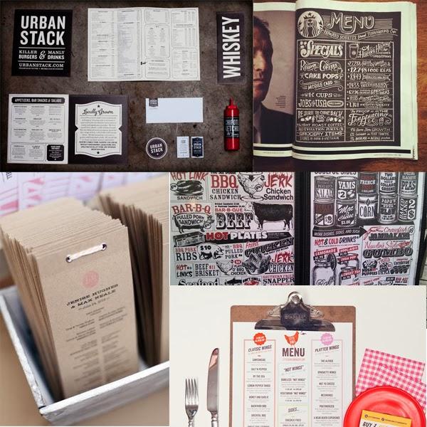 Lettering time 25 maravillosos dise os de menus para for Disenos de menus para restaurantes