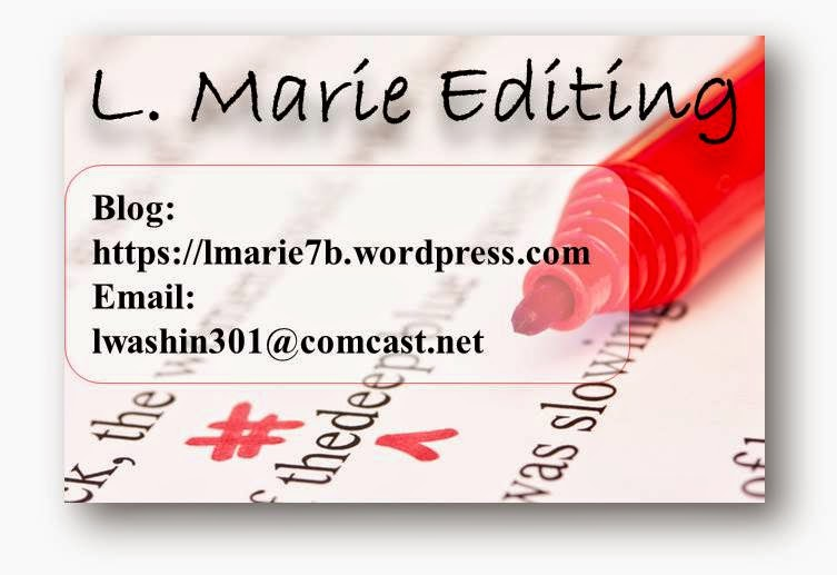 L Marie Editing (Author of over 30 Published books)