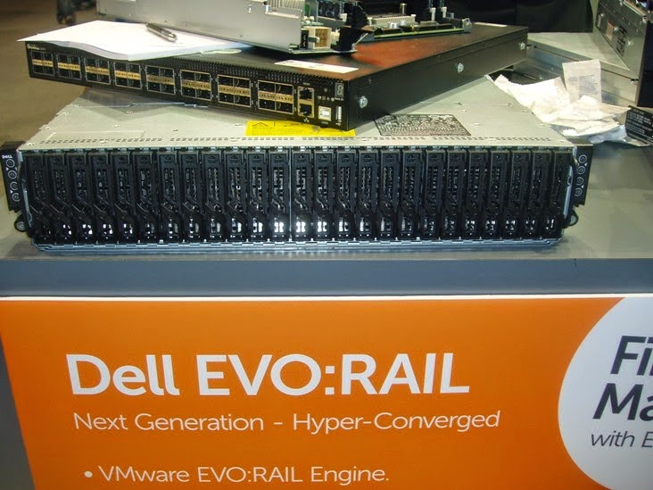 DELL EVO Rail en VMWord 2014 Barcelona