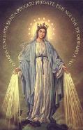 """""""Oh María sin pecado concebida, ruega por nosotros que recurrimos a Tí."""""""