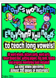 All of our Long Vowel Packs Bundled!