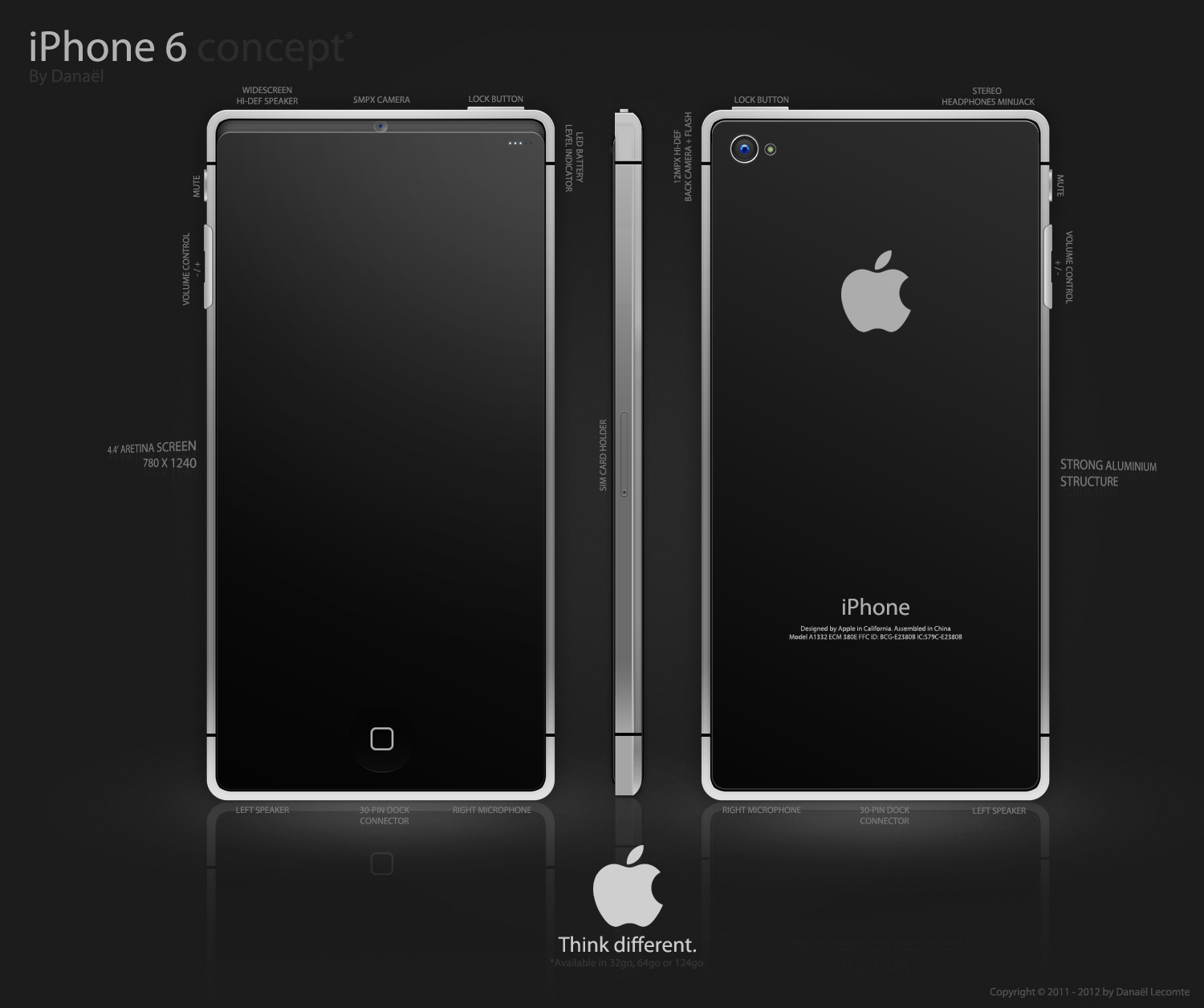 Black Apple iPhone 6