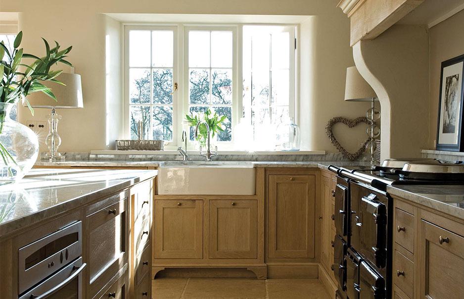 Fregaderos sobre mueble para cocinas r sticas reformas - Puertas de cocina rusticas ...