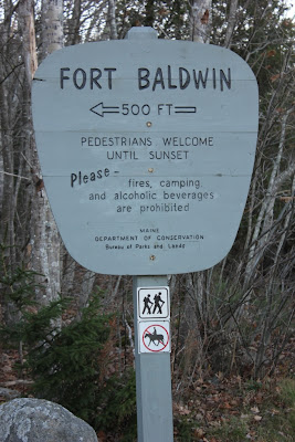 fort baldwin park sign