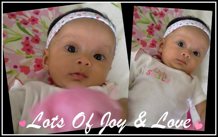 ... Lots Of Joy & Love...