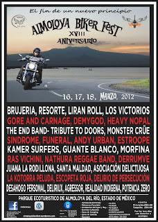 Almoloya Biker Fest  2012  XVIII Aniversario