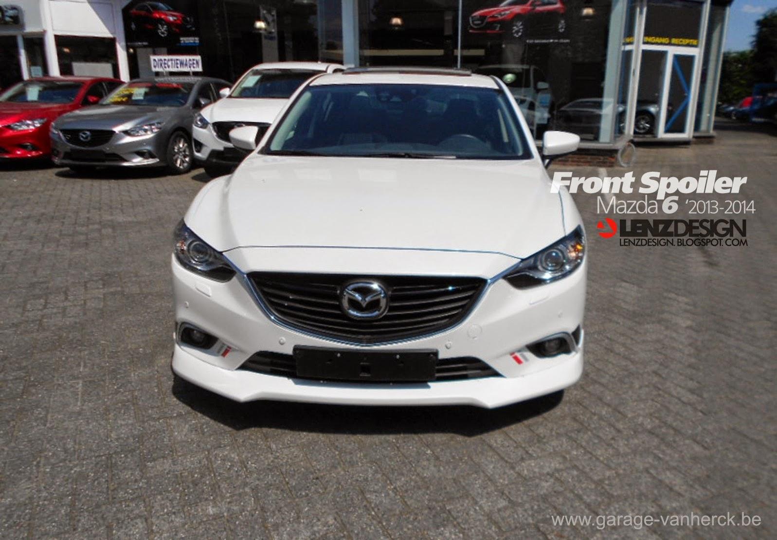 Mazda 6 GJ Atenza Lenzdesign Bodykit & Spoilers 2013 2014 ...