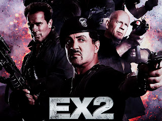 Expendables EX 2 Characters Poster