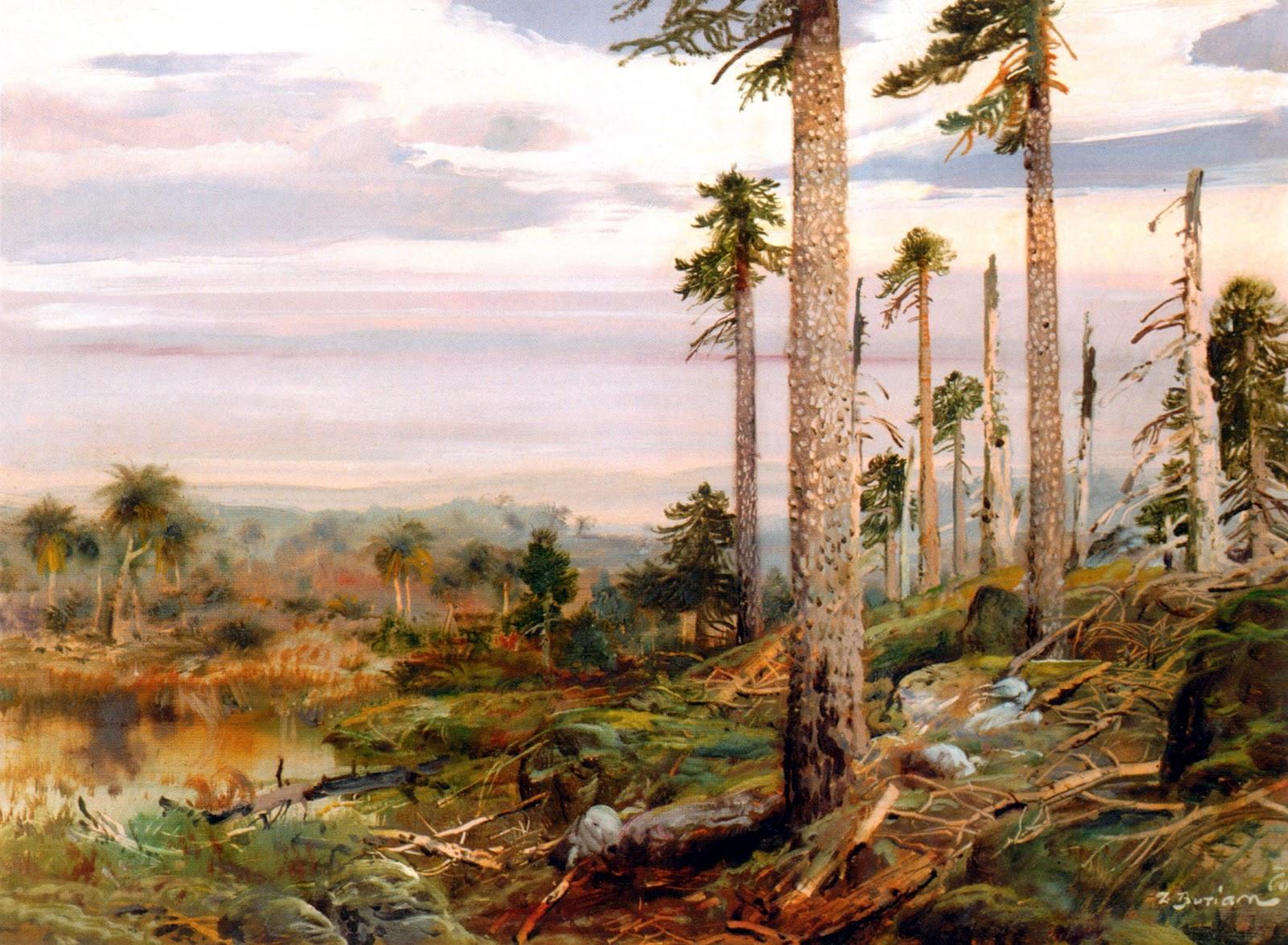 Zdeněk Burian: Jurassic Landscape