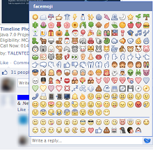 Use All New Facebook Chat Stickers and Smileys ;) ~ Go! H4X