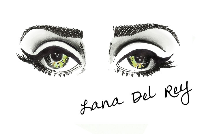 how to draw fashion illustration eyes