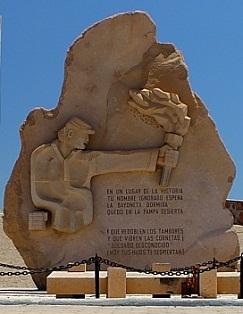 Monumento al Soldado Desconocido, Morro de Arica