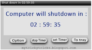shutdown timer,how to control yourself from computer addiction,control computer addiction