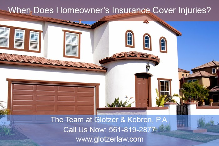 When Does Homeowner's Insurance Cover Injuries?