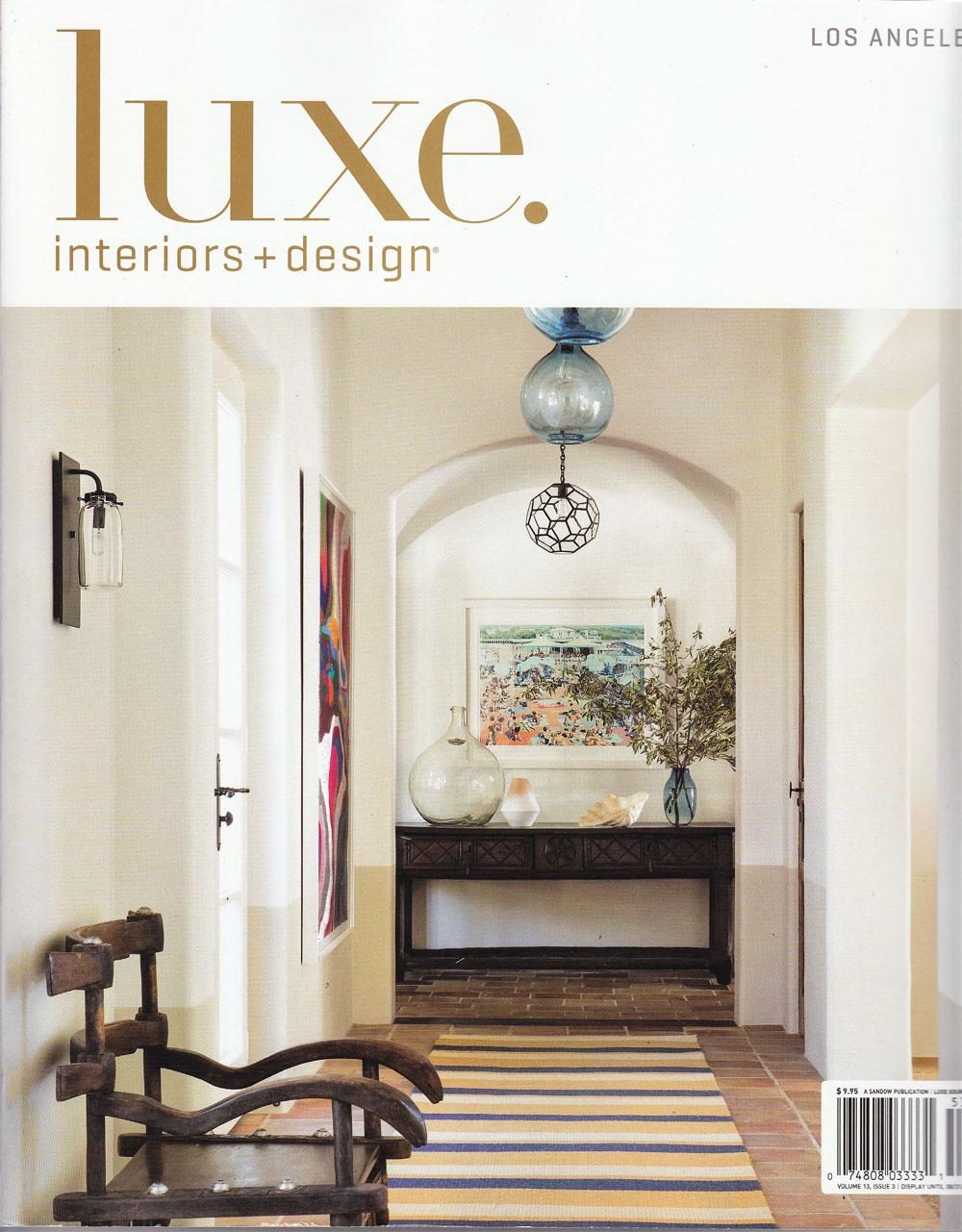 Classic design media luxe interiors design for Luxe interieur design