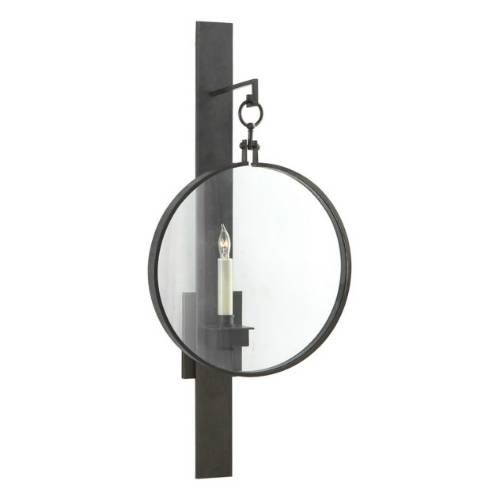 Visual Comfort SK2002 Suzanne Kasler 1 Light Alice Wall Sconce in Aged Iron