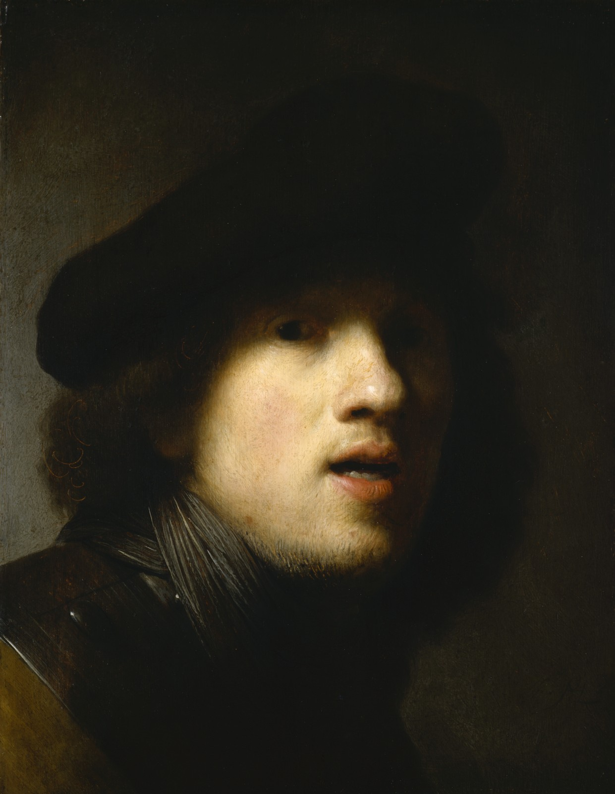rembrandt self portrait essay Oh what a difference a difference makes:  this self-portrait of the 17th  this painting is generally interpreted as rembrandt's self-criticism since he.