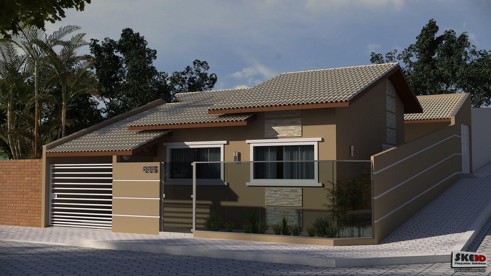 Projetos de casas de esquina for Casa moderna esquina