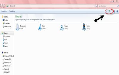 change Folder View