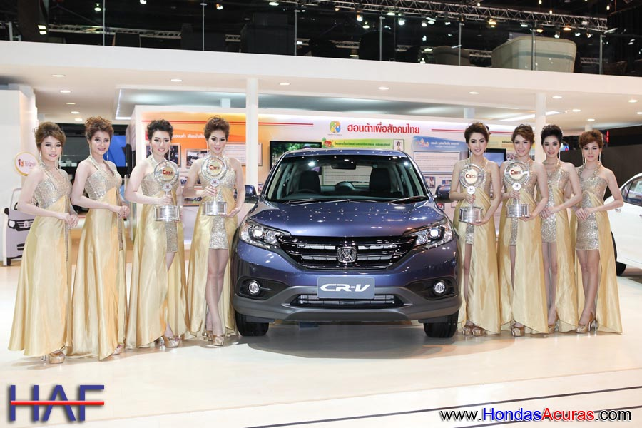 World's Best Selling SUV - Honda CR-V, and by a wide margin