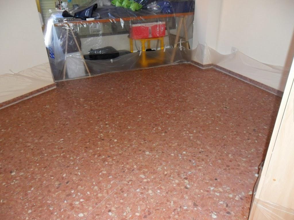 Pulef cil diamantado o micro pulido de habitaci n de terrazo for Como pulir suelo de terrazo
