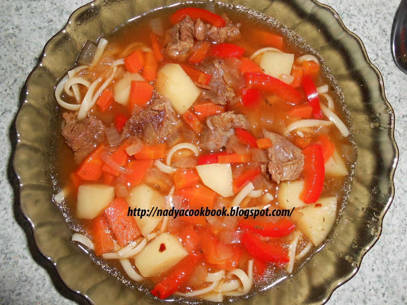 Лагман по татарски рецепт пошагово