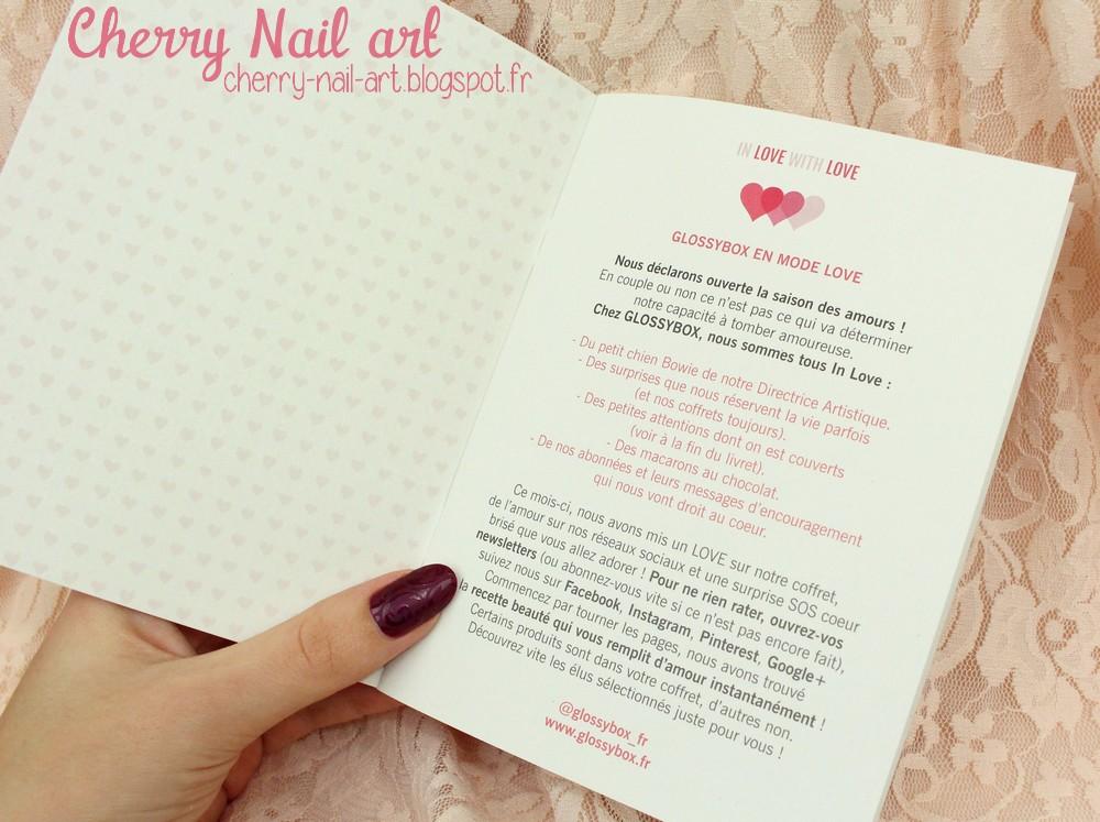 glossybox fevrier 2015 saint valentin