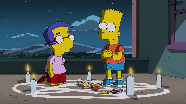 Los Simpsons- Capitulo 19 - Temporada 25 - Audio Latino -  Qué Esperar Cuando Bart Está Esperando