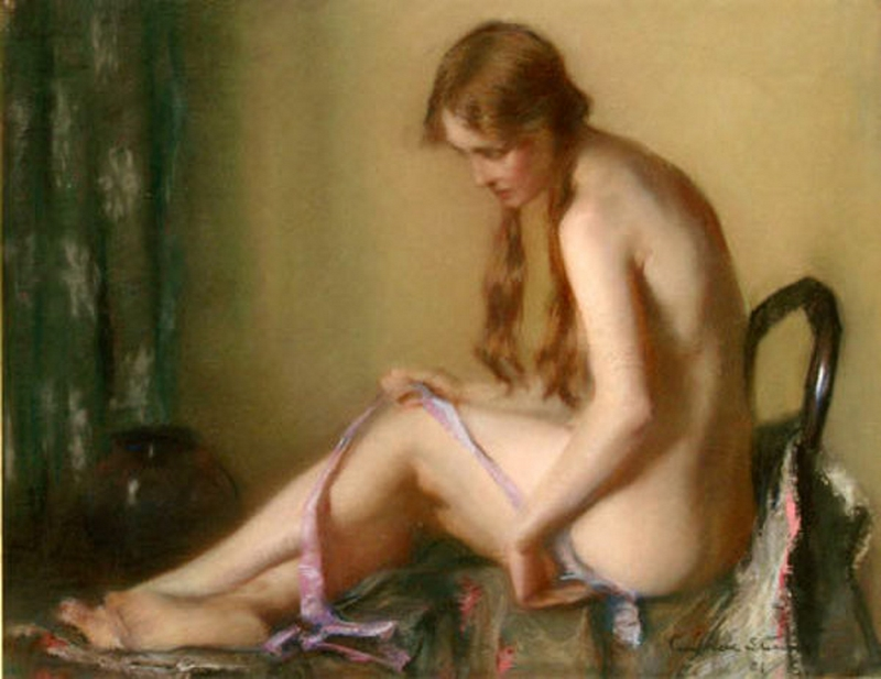 D.W.C. Blurred the Lines - Painter Janet Agnes Cumbrae Stewart