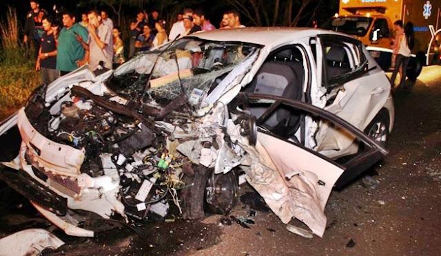 Veículo de Mamborê se envolve em acidente na PR-317