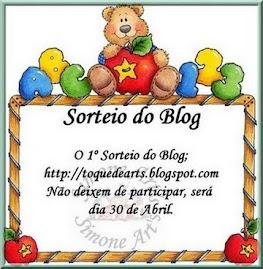 SORTEIO DIA 30/04