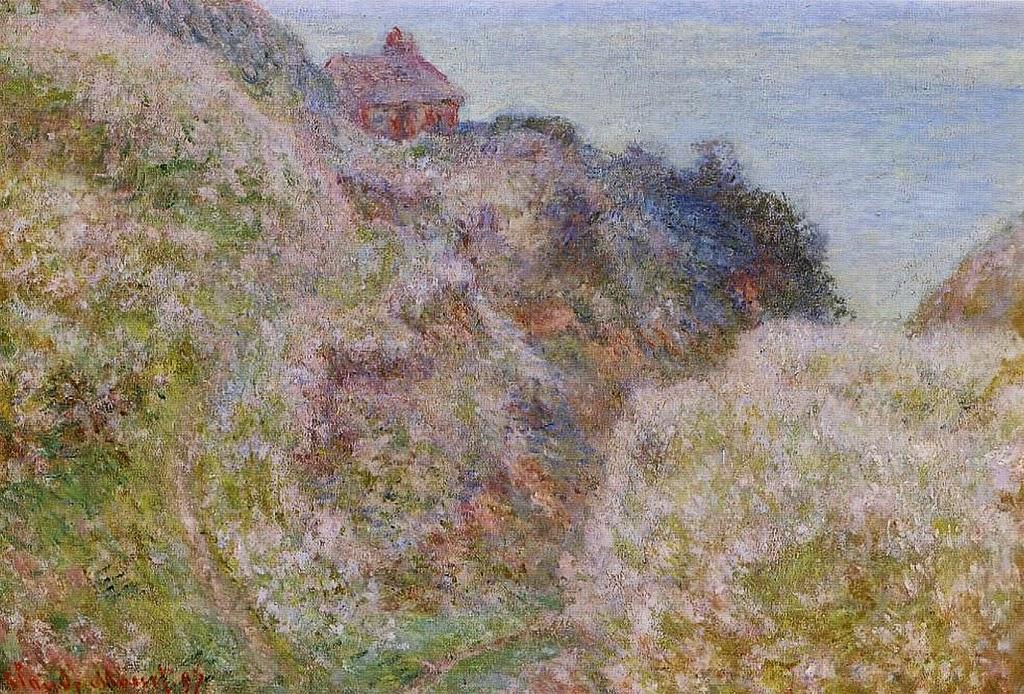 La gorge du Petit Ailly, Varengeville, temps gris (1897)