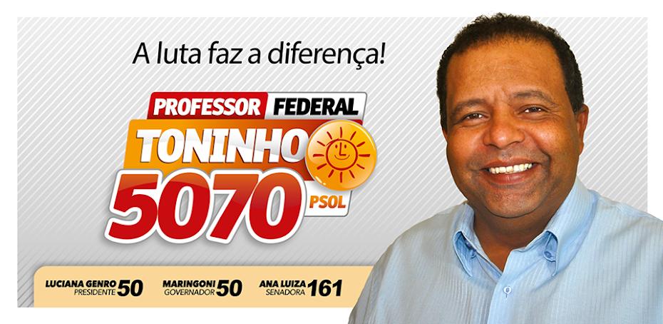 Professor Toninho 5070 Deputado Federal