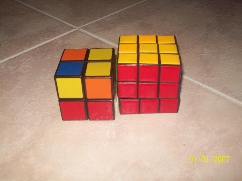 cubo dando