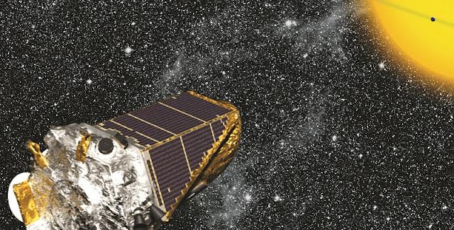 Kepler spacecraft. Credit: NASA