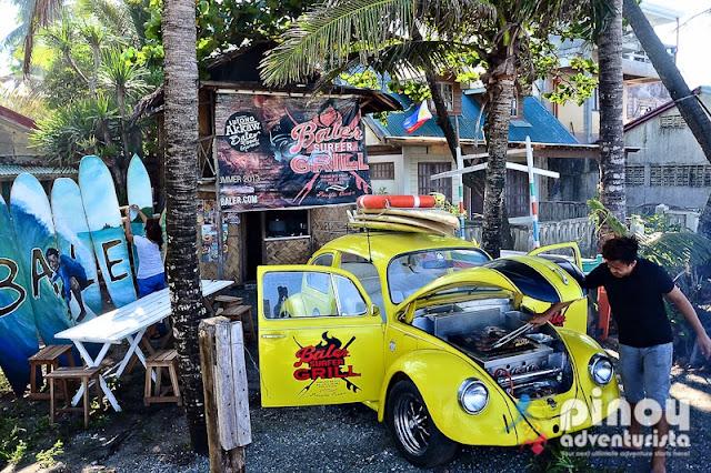 WHERE TO EAT Baler Surfer Grill Sabang Beach
