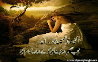 best urdu sad poetry