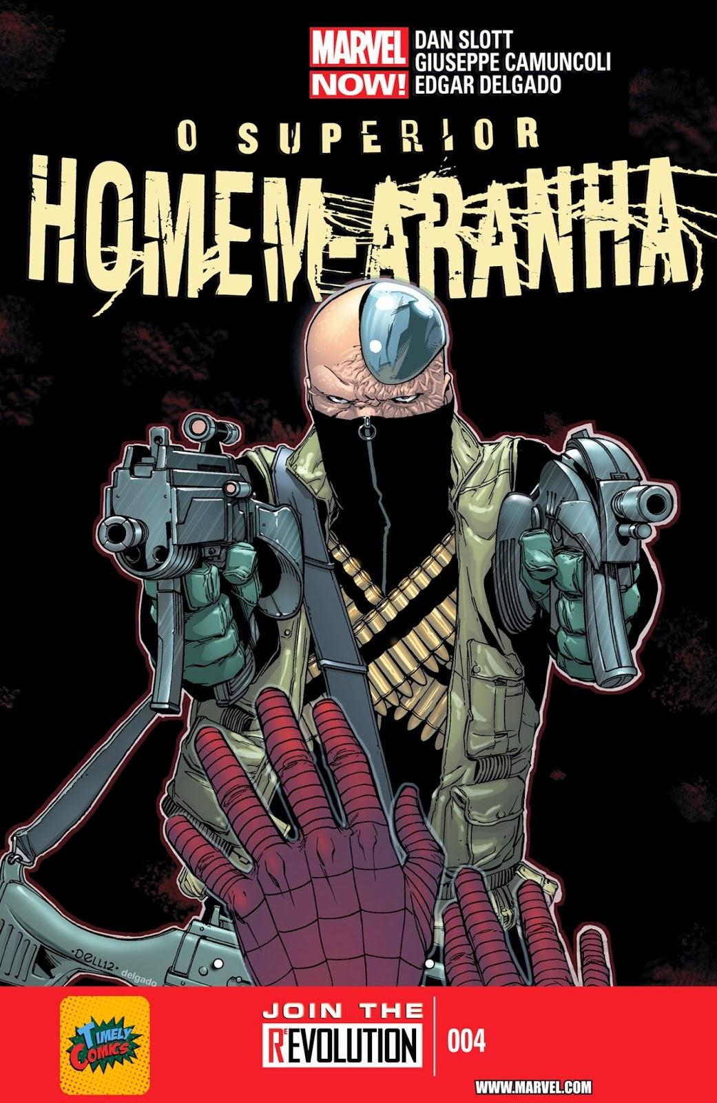 Nova Marvel! O Superior Homem-Aranha #4