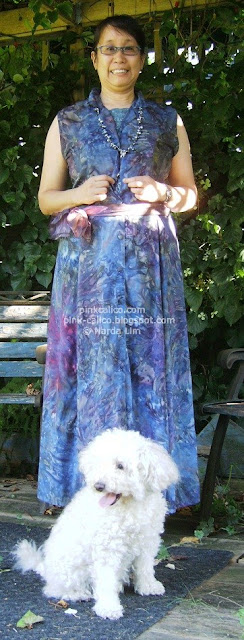Pink Calico: Tie-Dye Maxi