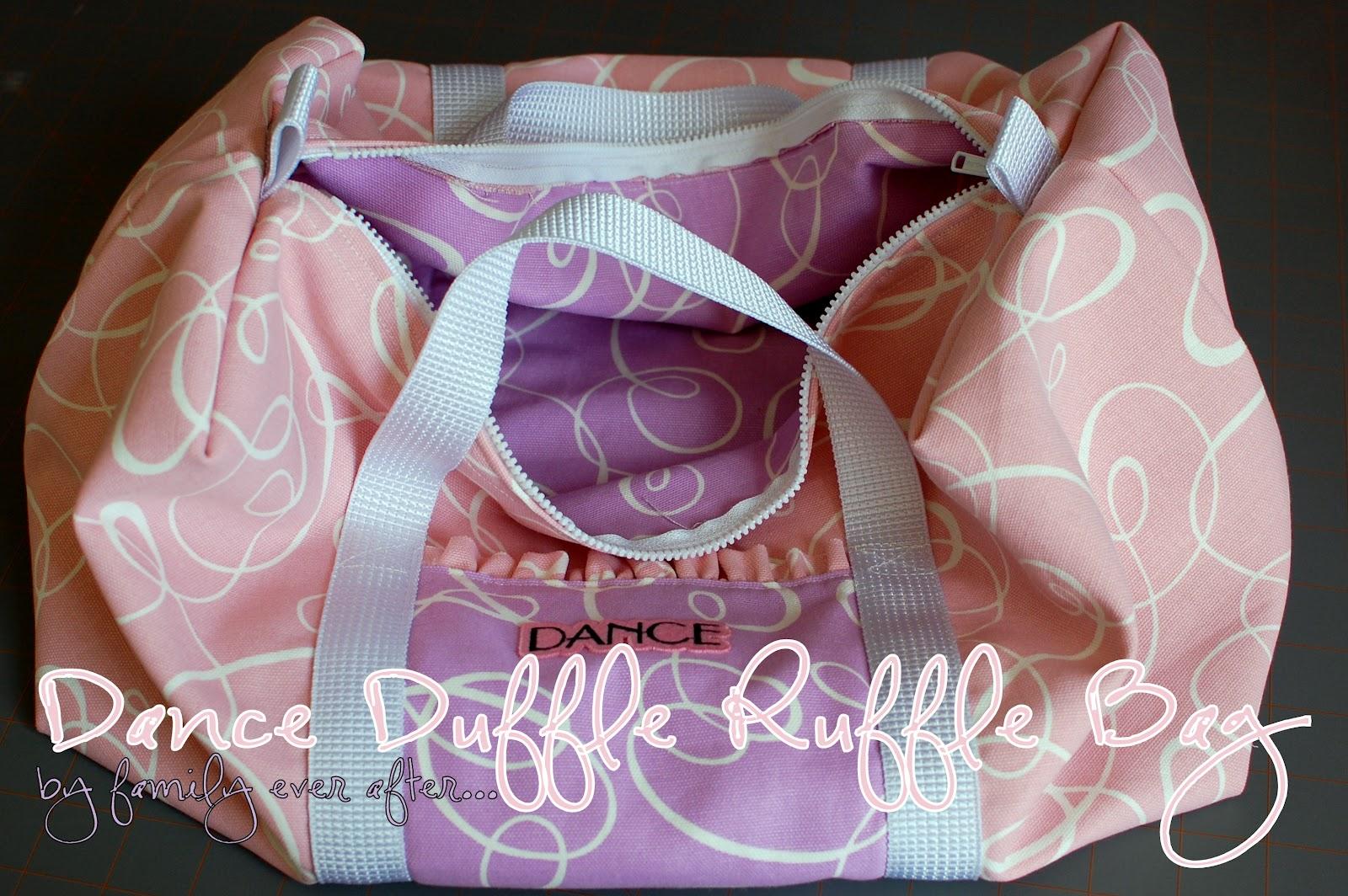 Ruffle Dance Bag Tutorial Lilluna So Cute Your S Will Love