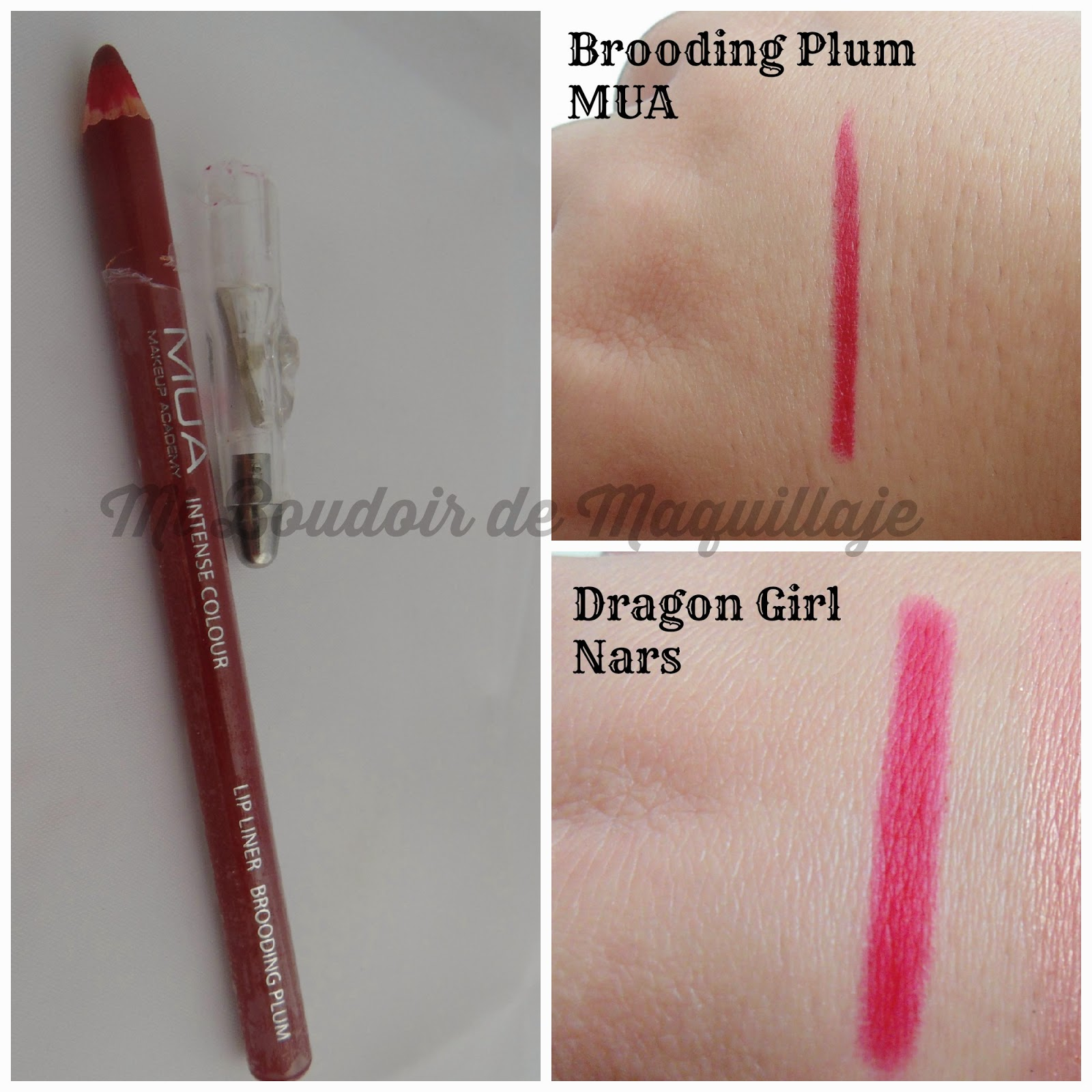 Lip Liner Brooding Plum Dragon Girl Lapiz Labios