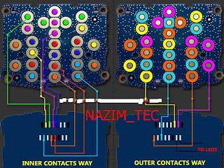 nokia N70 full keypad jumpers diagram