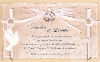 Carte d invitation mariage gratuit