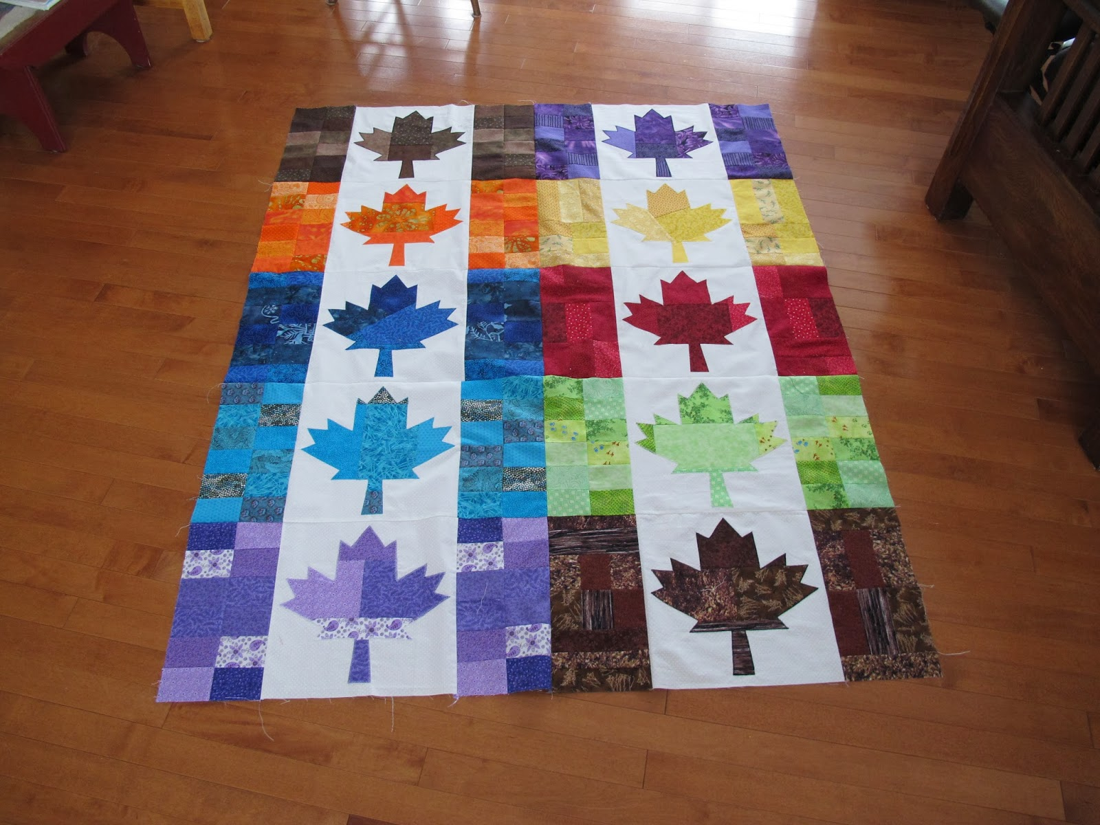 Love to Quilt: Patriotism is alive and well. : canadian flag quilt - Adamdwight.com