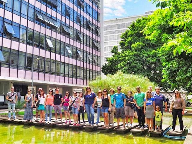 Tour pelas superquadras de Brasília