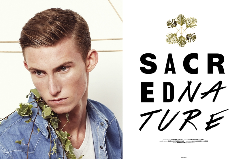 "EDITORIAL The Ones2Watch ""Sacred Nature"" Feat. Harrison Sullivan by"