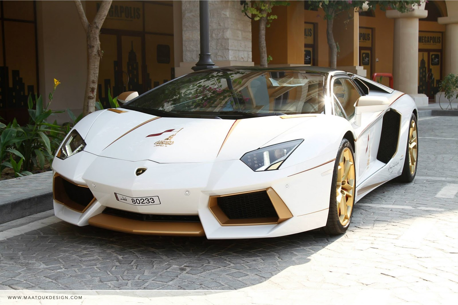 Gold Plated Lamborghini Aventador Is Quot 1 Of 1 Quot W Video