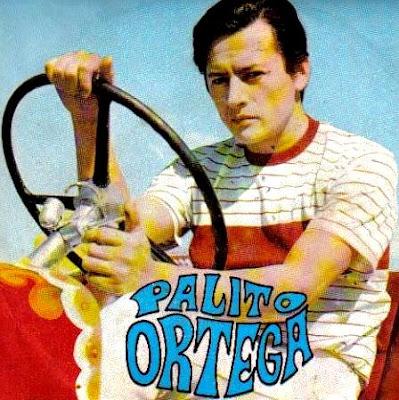 Palito Ortega en portada de disco cuando era joven