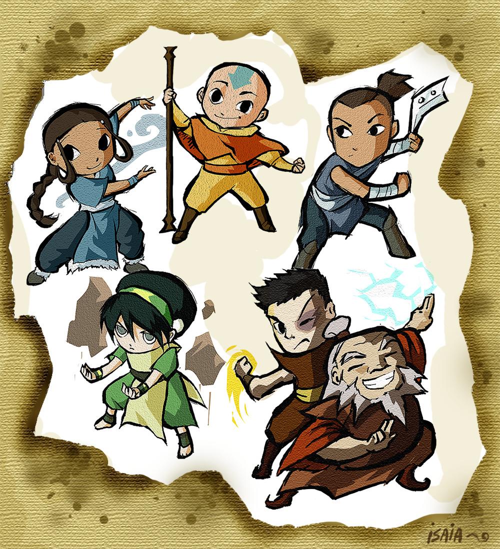 Opiniones de anexo personajes de avatar la leyenda de aang