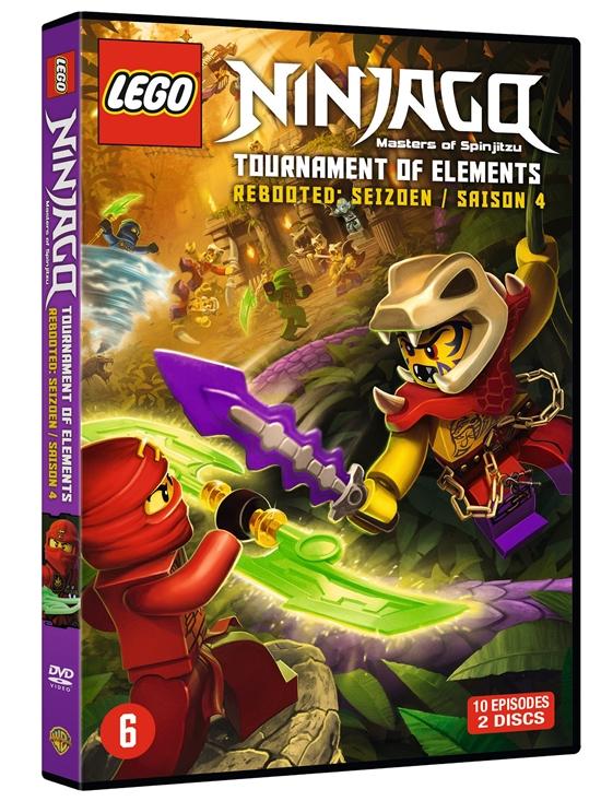 Review lego ninjago saison 3 4 le test dvd deep blu - Lego ninjago nouvelle saison ...